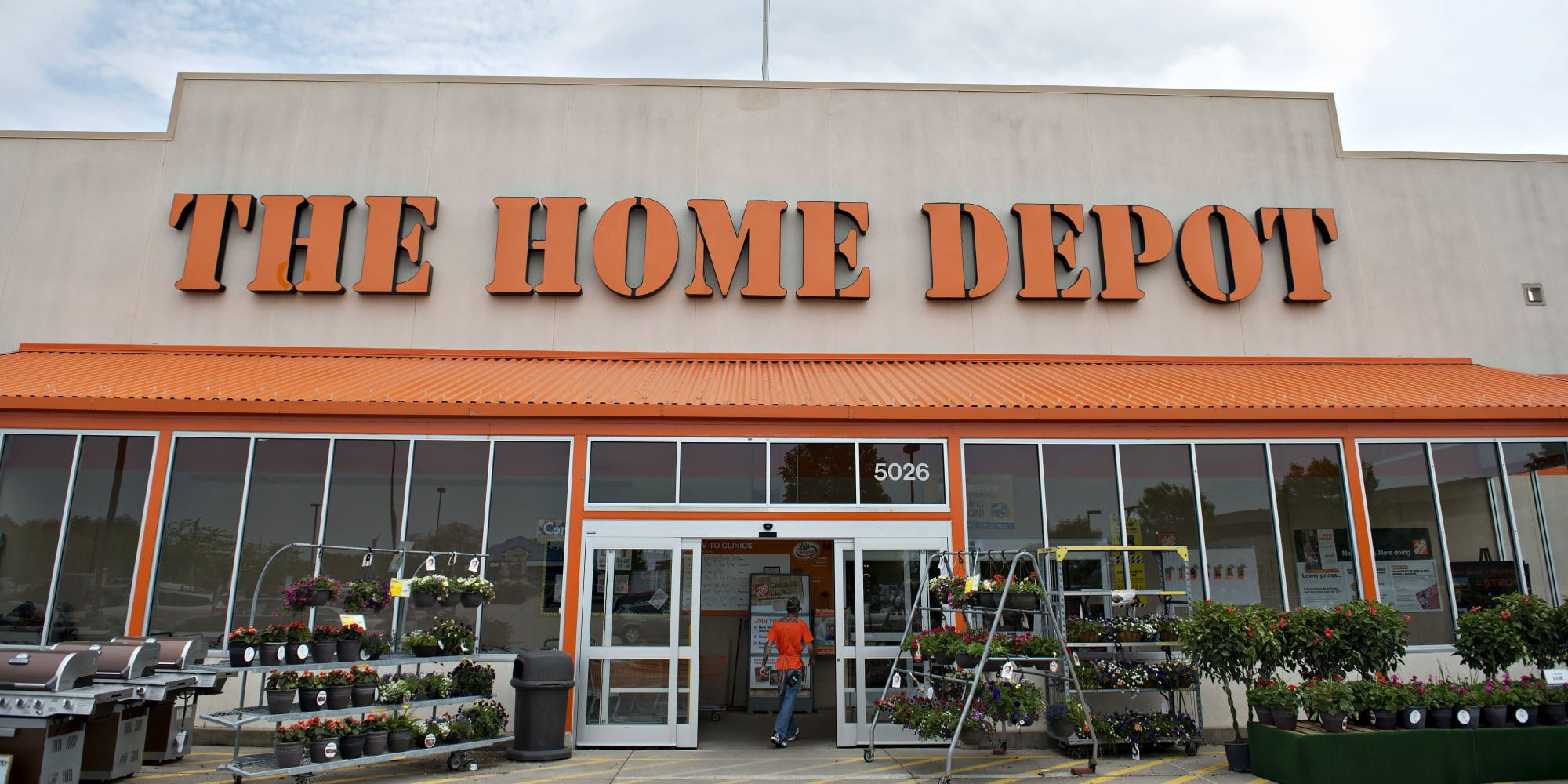 Home Depot 12-Year Chart in Light of Stagnant Sales Forecast ...